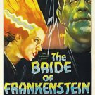 Bride of Frankenstein Style A Movie Poster 13x19 inches