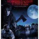 Stranger Things Style K TV Show Poster 13x19 inches