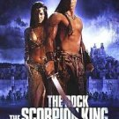 Scorpion King Advance Double Sided Original Movie Poster 27x40 inches