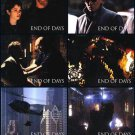 END OF DAYS LOBBY CARDS 10 CARDS RARE!!
