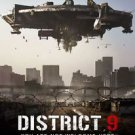 District 9 International Double Sided Original Movie Poster 27x40 inches