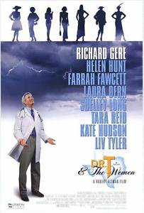 Dr. T and the Women Double Sided Original Movie Poster 27x40 inches