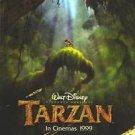 Tarzan Advance b Original Movie Poster Double Sided 27X40