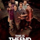 This is the End Version B Double Sided Original Movie Poster 27x40 inches