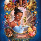 Princess & the Frog Blue Double Sided Original Movie Poster 27x40 inches