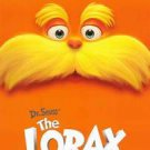 The Lorax Dr. Seuss Advance Double Sided Original Movie Poster 27x40
