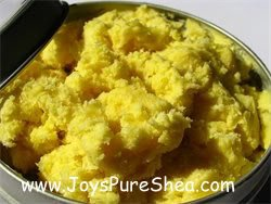 WHITE AFRICAN SHEA BUTTER RAW ORGANIC UNREFINED 4 OZ