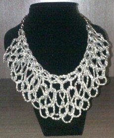 snake link necklace