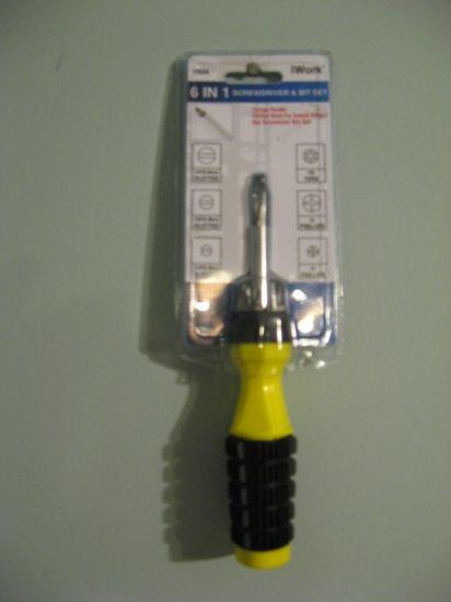 6 in 1 screwdriver set