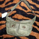 NWT! Cute Delia's Green Handbag Purse with Pockets