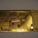 10 EURO GOLD .999 BANKNOTE BILL