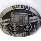Vintage Watkins Spice Advertising Belt Buckle