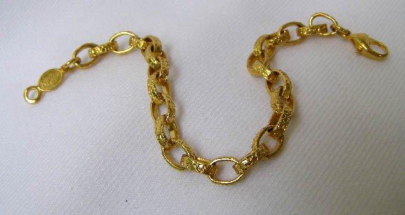 Vintage Napier Large Mariner Link Bracelet