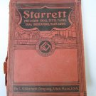 1938 Starrett Tool Catalog # 26