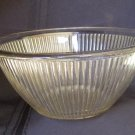 Anchor Hocking Depression Ribbed Bullseye Mixing Bowl