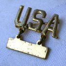 WW II Sterling Silver Lieutenant Bar Sweetheart Pin