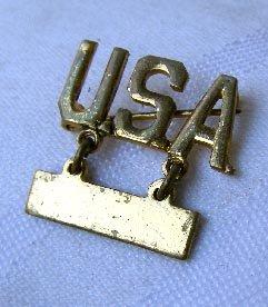 WW II Sterling Silver Lieutenant Bar Sweetheart Pin