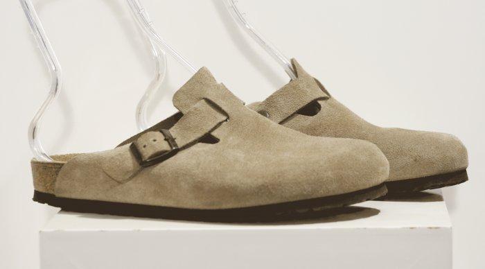 Birkenstock BOSTON Sandals Clogs Suede 8 / 41 Germany nw