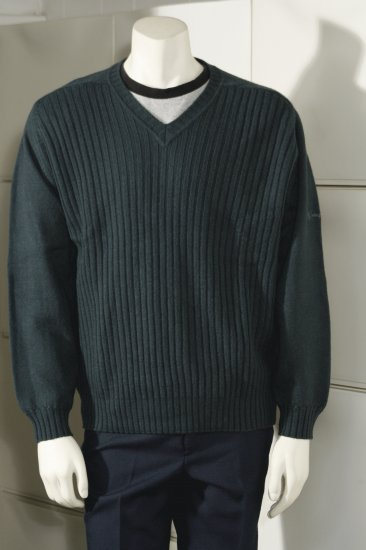 PRINGLE SPORT Sweater Pullover vtg '90s SCOTLAND Wool L mint