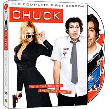 Chuck Season 1 and 2 Complete seasons Free Priority Shipping
