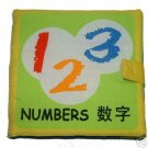 Baby Cloth Book on Numbers