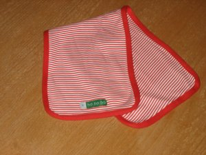 Christmas Burping Cloth by Child of Mine, Carters