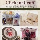 The Vintage Workshop Click-n-Craft Idea Book For Computer Crafting...