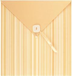 NCL 12x12 Envelope Style Photo Album BUTTERCREAM STRIPE