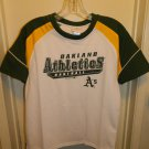 OAKLAND ATHLETICS NEW MLB BASEBALL SHIRT BOYS YOUTH L 12 - 14