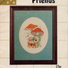 Little Friends Mice Cross Stitch Pattern Book Vintage Cute Mouse Designs