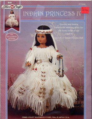 Serena (Fibre-Craft #FCM448 Crochet Doll Pattern): Christina Romo
