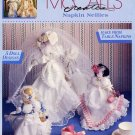 Napkin Nellies Lace Trimmed Cloth Napkin Dolls Decorations Weddings by McCall's Creates