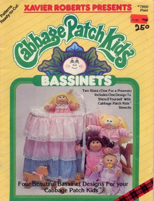 Cabbage Patch Kids Bassinets Vintage Doll Craft Book for CPK and Preemies
