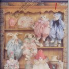 Sweet Clown, Bunny and Cat Block Dolls UNCUT Crafts Pattern Butterick 6095