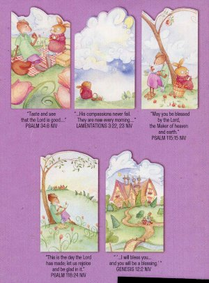 Joyfully Yours Artist Mouse Inspirational Christian Greeting Cards Set of 14