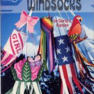 Plastic Canvas Windsocks Vintage Craft Pattern Book Needlepoint ASN