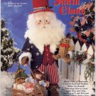Plastic Canvas Old World Santa Claus Craft Pattern Uncle Sam Doll