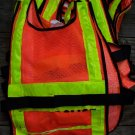 Lot of 10 Good used  IPT / PolyBrite Lighted Safety Vests