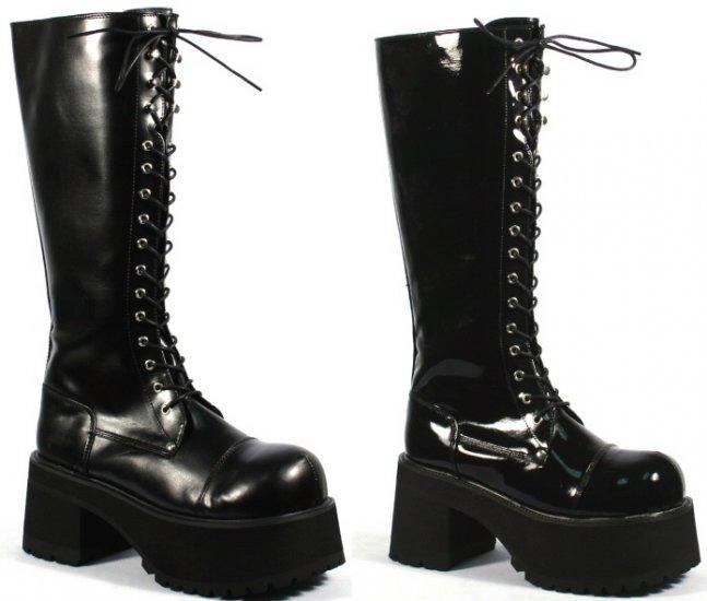 """""""Ranger"""" - Men's Lace Up Platform Knee High Boots"""