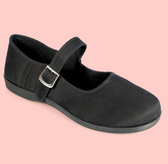 """""""Sassie"""" - Women's Canvas Mary Jane Style Shoes"""