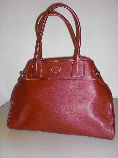 HUGE Red tote bag! TOD's look a like!
