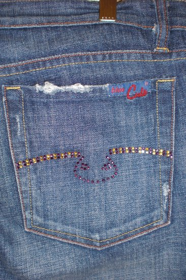 Blue Cult Jeans Embellished Pockets #121 - Kate Dark - 30