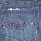 Blue Cult Jeans Embellished Pockets #121 - Kate Dark - 30