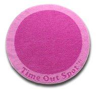 Circular Pink Time Out Spot
