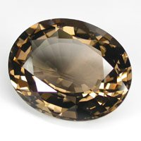 Pair of Brilliant Oval Cut Smoky Quartz 8.02Cttw.