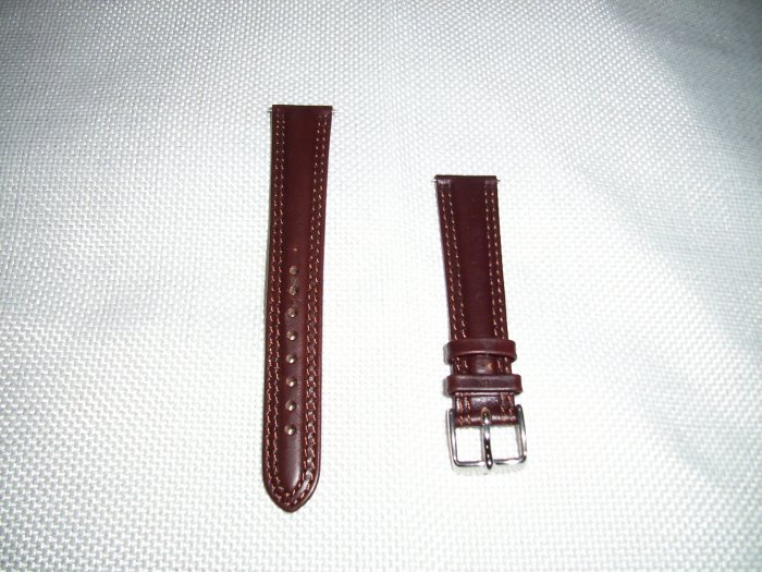 Genuine Leather Watchband Size 19mm