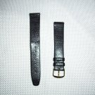 Genuine Lizard Grain on Calf Watchband Size 18mm