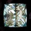 .47ct Natural Princess cut Aquamarine