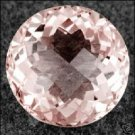 1.33ct Natural Pink Emerald Brilliant Round (Pink Beryl-Morganite) VVS