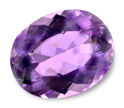 1.4ct Natural Brilliant Oval Purple Amethyst